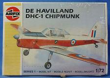 CLASSIC AIRFIX De HAVILLAND DHC-1 CHIPMUNK PLASTIC MODEL AIRPLANE KIT
