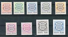 Estonia 1991 Serie ordinaria stemma MNH