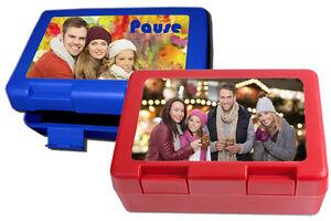 Brotbüchse mit Foto, Brotdose, Brotzeitbox mit eigenem Bild, Fotodruck, Geschenk