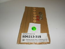 Nos! United Electric Controls Union/Well Seal Kit Sd6213-318 Sd6213318