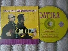 CD-DATURA-VOO DOO BELIEVE-BARON SAMEDI-ITALY-LOSITO/PAGANO(CD SINGLE)1997-2TRACK