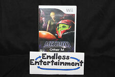 Metroid Other M Brand New Authentic Factory Sealed Nintendo Wii HTF!