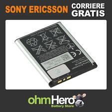 Batteria ORIGINALE per sony-ericsson TXT