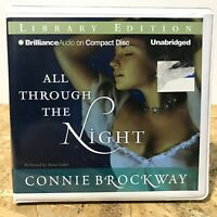 All Through the Night by Connie Brockway Ex Library 9 CD Unabridged Audiobook