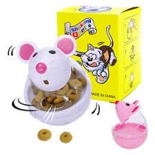 Snacky Mouse & Treats Fun Play Treat Food Dispenser Kitten Pet Cat Bobble Toy