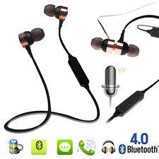 For iPhone Samsung Wireless Bluetooth Sport Earphone Stereo Headphone Headset UK