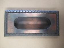 Flush door pulls, handles, cast brass, New Old stock, vintage