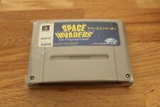 Space Invaders Game Cart. Nintendo Super Famicom (SNES)