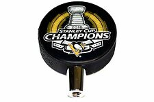 2016 Pittsburgh Penguins NHL Stanley Cup Champions Hockey Puck Beer Tap Handle