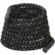 """1.5"""" 40ft Polyester Battle Rope Exercise Workout Strength Training Fitness"""