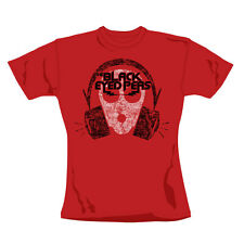 "BLACK EYED PEAS ""Out Of Mind"" Official Women's Red Cotton T-Shirt (L)"