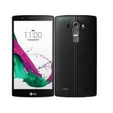 LG G4 Pelle Nera Smartphone Sbloccato UK venditore Grado B