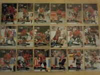 1991-92 Pro Set CHICAGO BLACKHAWKS Team Set - 29 Cards - HASEK ROOKIE CARD RC