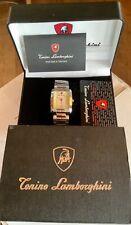 RARE Certified Tonino Lamborghini Watch Stainless steel new in box