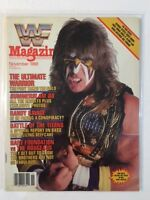 WWF Magazine 1988 November The Ultimate Warrior Fury Takes The Gold WWE WCW nWo