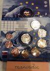 manueduc ESLOVAQUIA 2016 CARTERA 9 Coins con 2 Euros Conmemorativos UNC