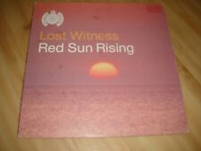 """LOST WITNESS-RED SUN RISING (MINISTRY OF SOUND 12"""")"""