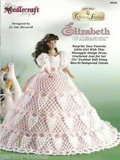 Elizabeth of Alexandria Ladies of Fashion Crochet Pattern for Barbie Dolls NEW