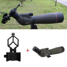 20-60x80mm Zoom Spotting Scope Waterproof Telescope&Phone Adapter AU Free Ship