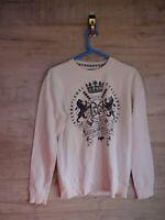 vtg 90s 80s baci abbaraci Graphic sweatshirt sweater jumper refA8 small medium