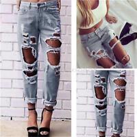 New Sexy Women Denim Skinny Pants High Waist Stretch Jeans Slim Pencil Trousers