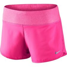 """Nike Flex Womens 719582-639 Hyper Pink Dri-Fit 3"""" Running Shorts Size L. BNWT"""