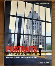 """2004 First ED """" Signed"""" Portraits of the New Architecture by Richard Schulman"""