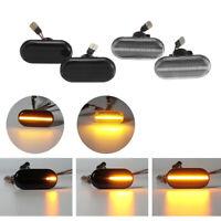 2x Dynamique LED Clignotant Répétiteur Lampe Pour Opel Nissan Renault Clio