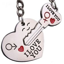 Starry-Styling Cute Couple I LOVE YOU Heart Keychain Ring Keyring Key Chain Love