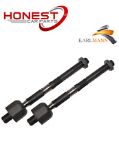 For BMW MINI 2003-2006 Front Inner Axle Track Tie Rod Ends Left & Right Karlmann