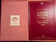 Filatelia - ITALIA REPUBBLICA 1989 Buca delle Lettere, il libro dei francobolli
