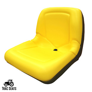 Yellow Seat for John Deere 325 335 345 355D Lawn Mower Tractor- AM131531