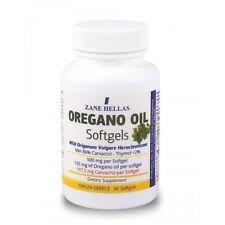 OREGANO OIL softgels - 60 CAPSULES (PURE GREEK WILD ORGANIC)