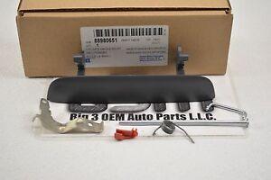 2002-2009 Chevrolet Trailblazer Liftgate Outside PTM Handle Kit new OEM 88980651