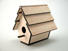 Wild Bird Hanging House, Wooden Native Bird House Feeder, Idea Gift Present