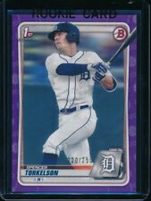 SPENCER TORKELSON 1st 2020 Bowman Draft Paper PURPLE Parallel #/250 Rookie RC