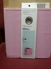 6 PACK Room Essentials™ Fabric Cube Storage Bin - Light Pink
