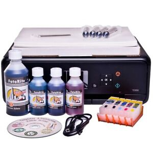 EDIBLE STARTER KIT: PRINTER, REFILL CARTRIDGES, INK, 50 WAFER+25 DECOR PAPER