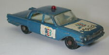 Matchbox Lesney No.55 Ford Fairlane Police Car Blue  oc16608