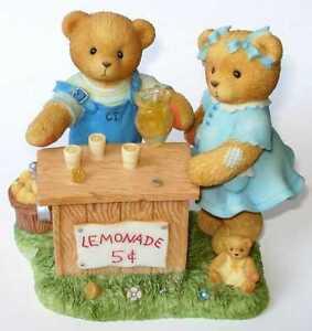 Cherished Teddies - ALBERT and SUSANN - Whenever Life Hands You Lemons - 661848S