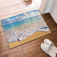 Tropical beach Kitchen Bath Bathroom Shower Floor Home Door Mat Rug Non-Slip new
