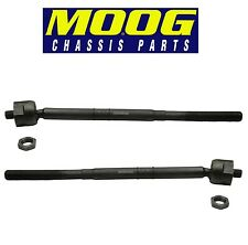 For Escape Mazda Mercury Pair Set of 2 Front Inner Tie Rod Ends MOOG EV800366