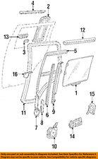 GM OEM Glass-Rear Door Window-Weatherstrip Seal Right 15700884