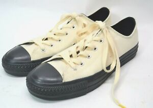 """Converse Cons """"A Love Like Blood"""" Mens 8/Womens 10 Canvas Cream Sneakers (BB)"""