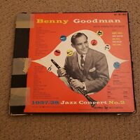 Benny Goodman: 1937-38 Jazz Concert No. 2 (Columbia SL-180) 1952 LP 2X Autograph