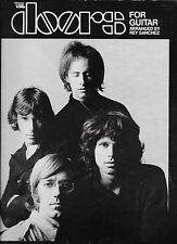 THE DOORS  For Guitar  sheet music songbook