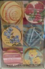 Christian Siriano New York 6 Piece Boxed Body Butter Gift Set Free Shipping