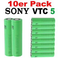 10x VTC5 Sony Konion US18650VTC5 3,7V 2600mAh + Akku Batterie 18650 10er-SET