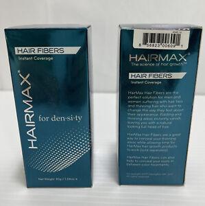Lot Of 2 HairMax for Density Hair Fibers, GRAY 1.06 oz EACH Brand New