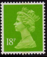 GB 1992 Machin Definitive 18p bright green SG X1011 MNH (1 CB)